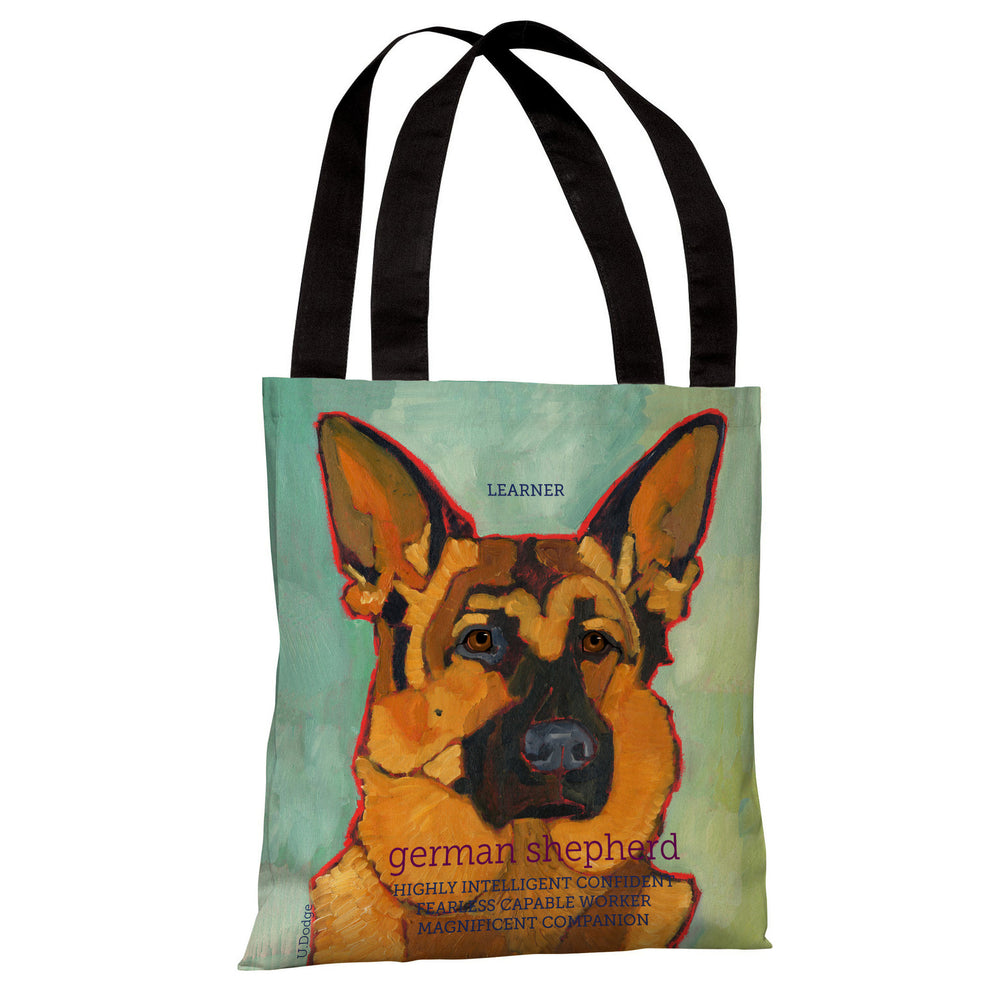 German Shepherd 1 Tote Bag by Ursula Dodge