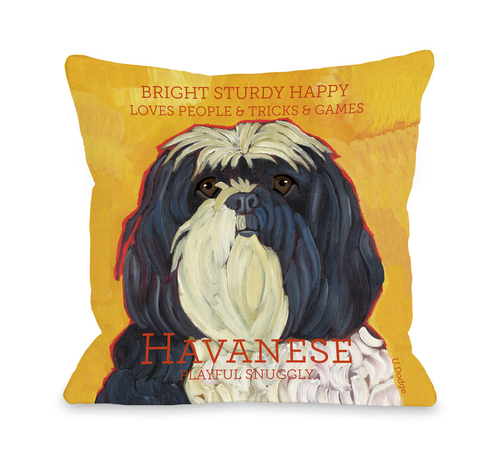 Havanese 1by OneBellaCasa Affordable Home D_cor