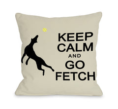 Keep Calm and Go Fetchby OneBellaCasa Affordable Home D_cor