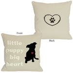 Little Puppy, Big Heartby OneBellaCasa Affordable Home D_cor