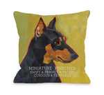 Miniature Pinscher 1by OneBellaCasa Affordable Home D_cor