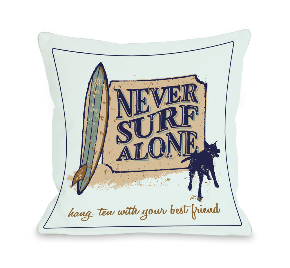 Never Surf Alone - Tealby OneBellaCasa Affordable Home D_cor