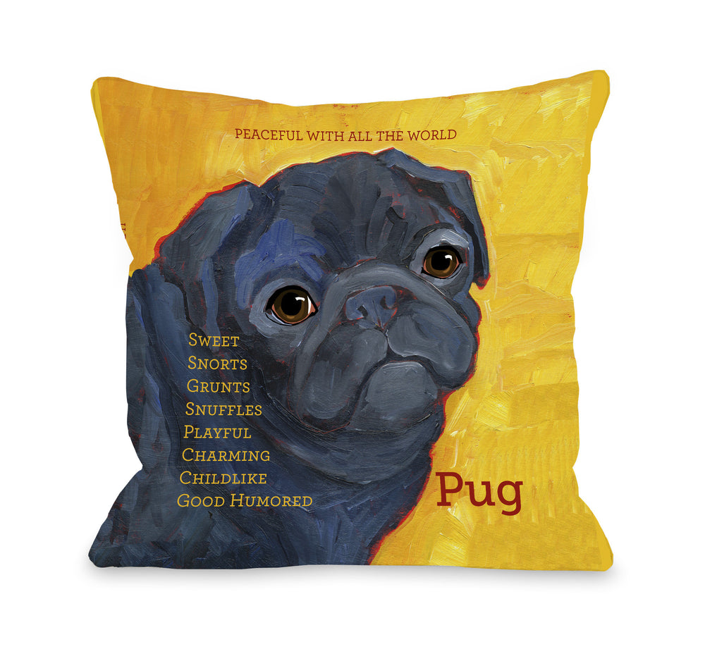 Pug 3by OneBellaCasa Affordable Home D_cor