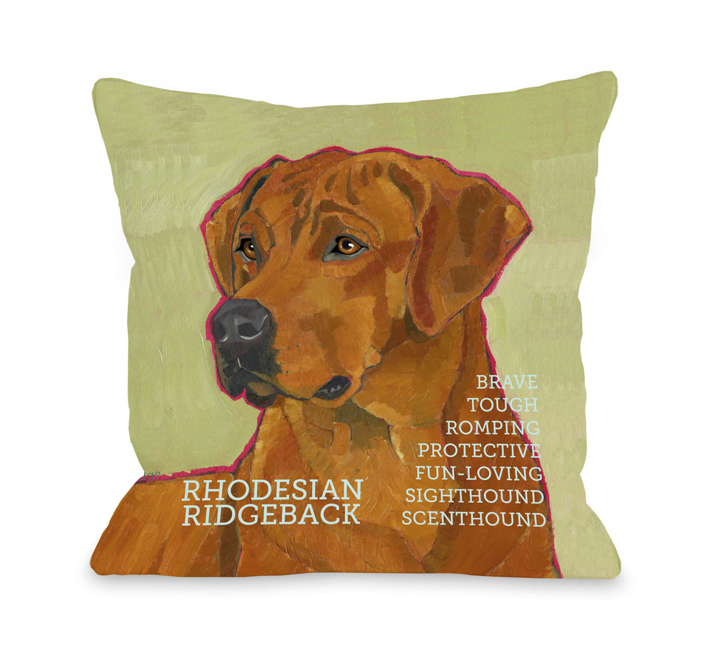 Rodesian Ridgeback 1by OneBellaCasa Affordable Home D_cor