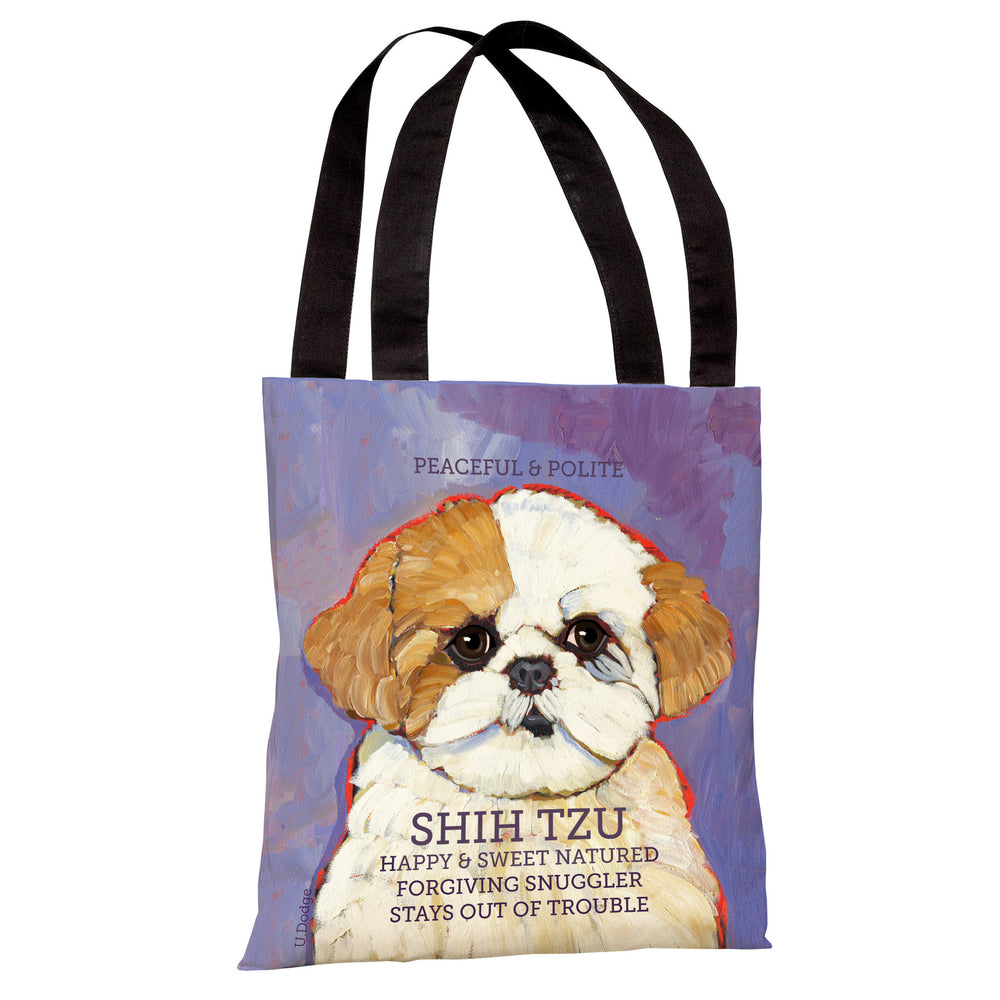 Shih Tzu 3 Tote Bag by Ursula Dodge