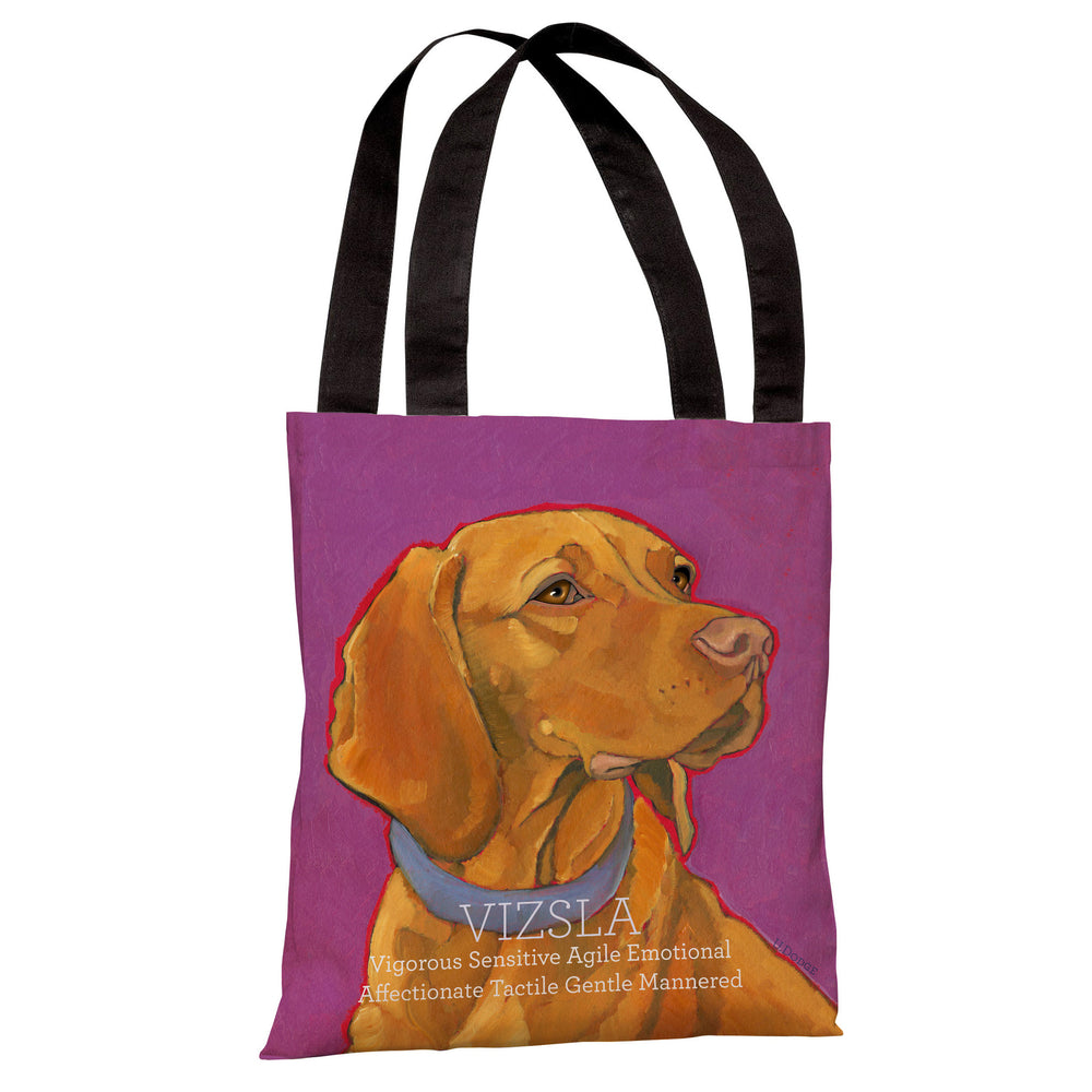 Vizsla 2 Tote Bag by Ursula Dodge