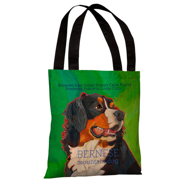 Bernese Mountain Dog 1 Tote Bag by Ursula Dodge