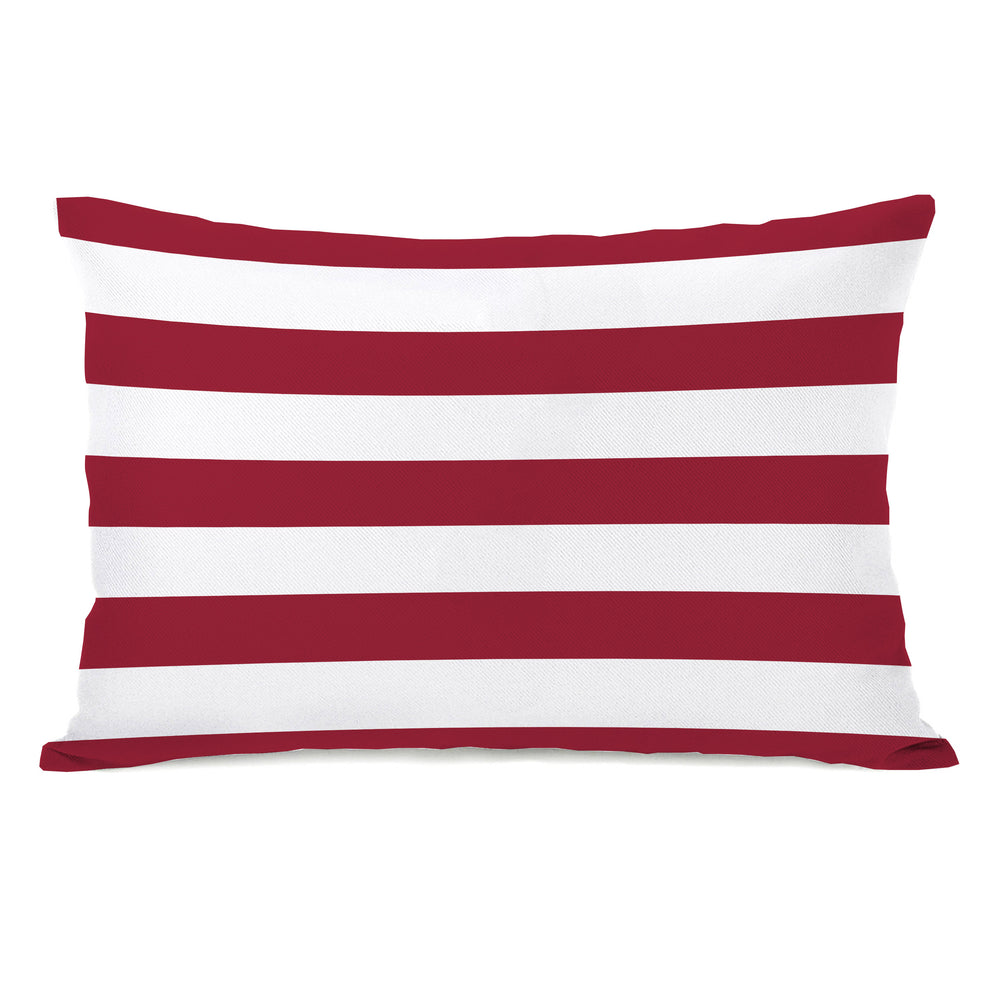 Stars & Stripes Reversible Throw Pillow by OBC