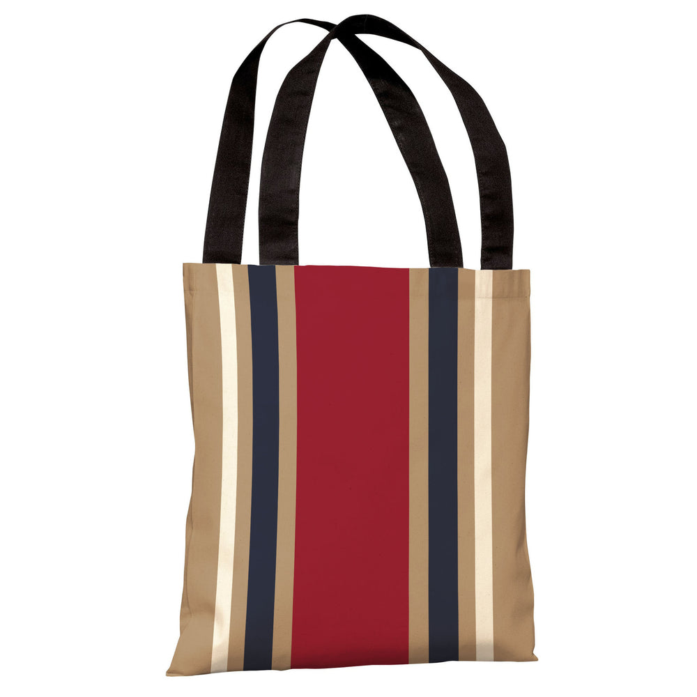 Americus Stripe Tote Bag by OBC