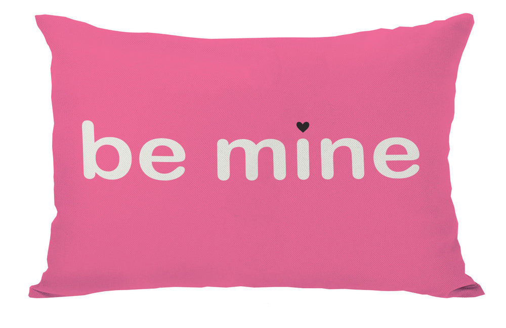 Be Mine / Valentine Reversible 14x20 Pillow by OBC
