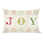 Boho Joy Throw Pillow by OBC