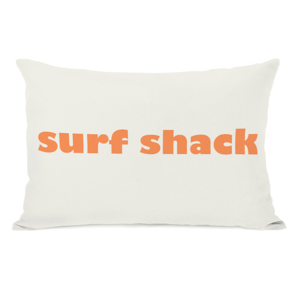 Surfs Shack Outdoor Throw Pillow by OBC
