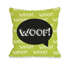 Woof Talk Bubble - Lime Blackby OneBellaCasa Affordable Home D_cor