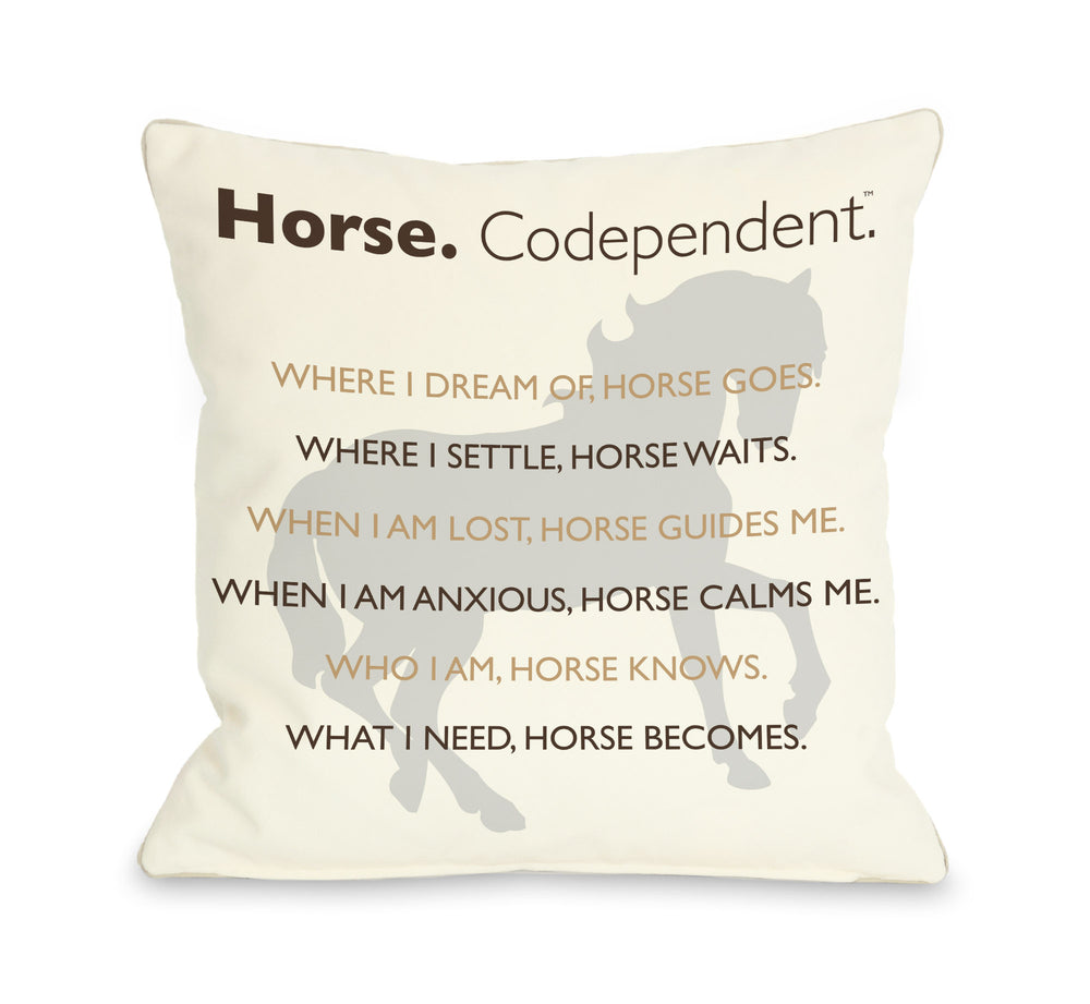Horse Codependentby OneBellaCasa Affordable Home D_cor