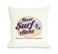 Never Surf Alone Roundby OneBellaCasa Affordable Home D_cor