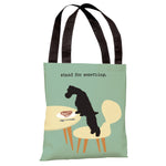 Stand For Something Dog Tote Bag by Dog is Good
