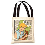 Why Can't Men Tote Bag by Dog is Good