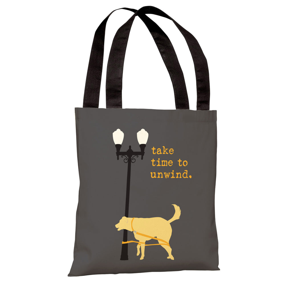 Unwind Dog Tote Bag by Dog is Good