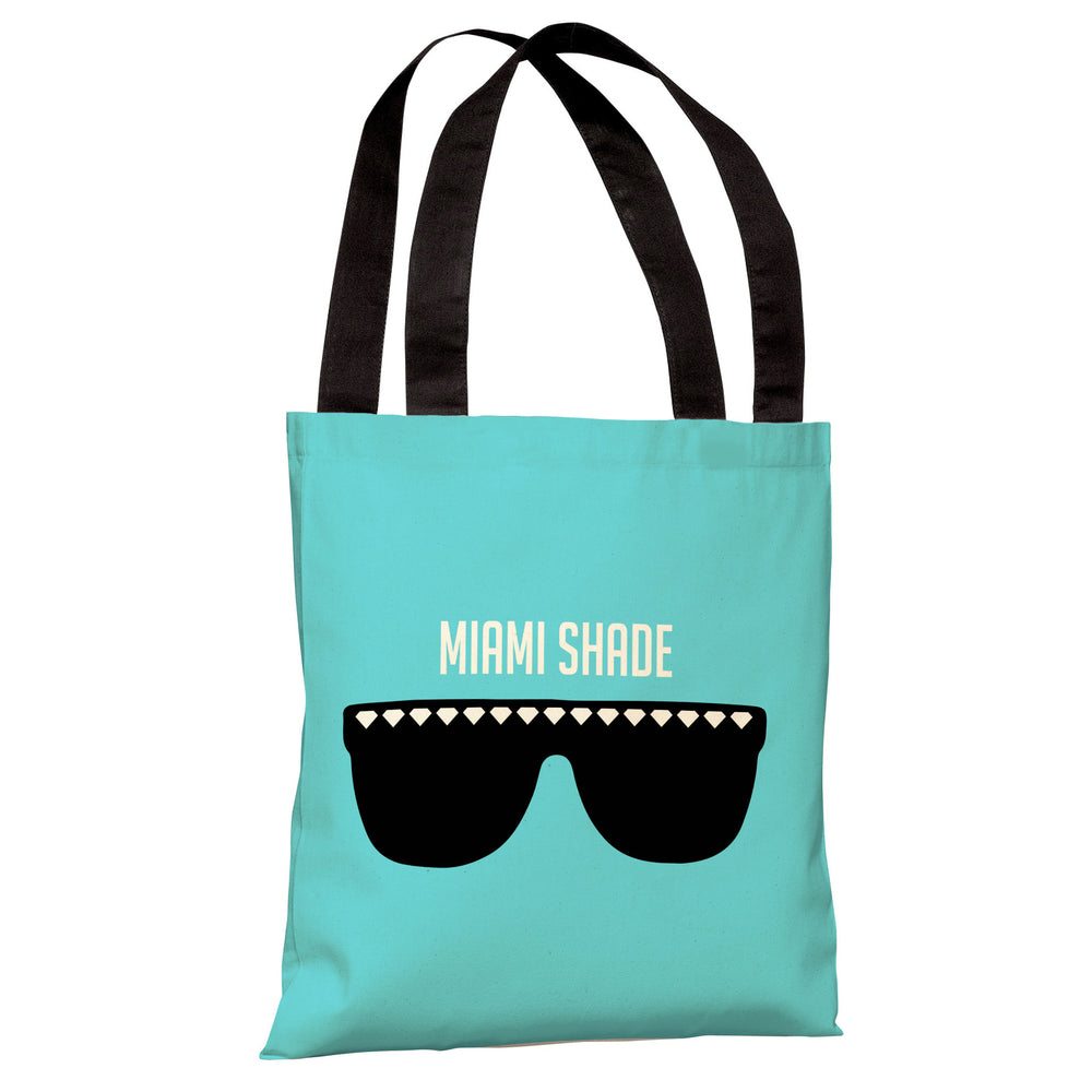 Miami Shade Sunglasses - Blue Tote Bag by OBC