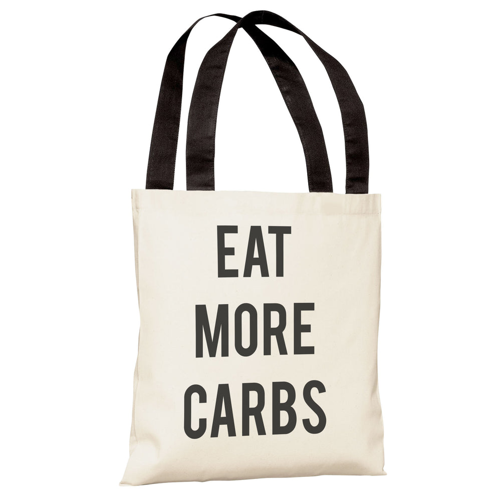 Carbs Vs Kale Reversible  Tote Bag by OBC