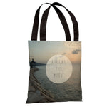 Appreciate This Moment Beach Photo  Tote Bag by OBC