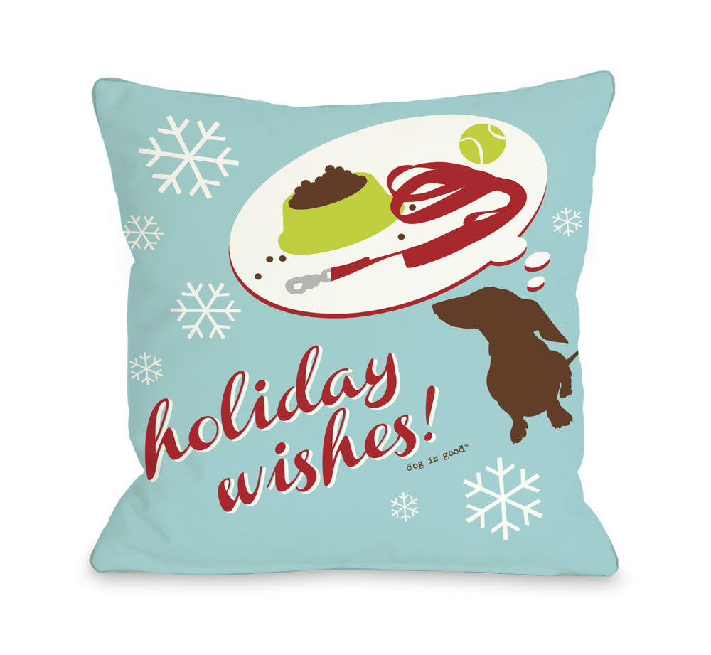 Holiday Wishes Dog by OneBellaCasa Affordable Home D_cor