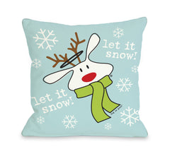 Let it Snow Dog by OneBellaCasa Affordable Home D_cor