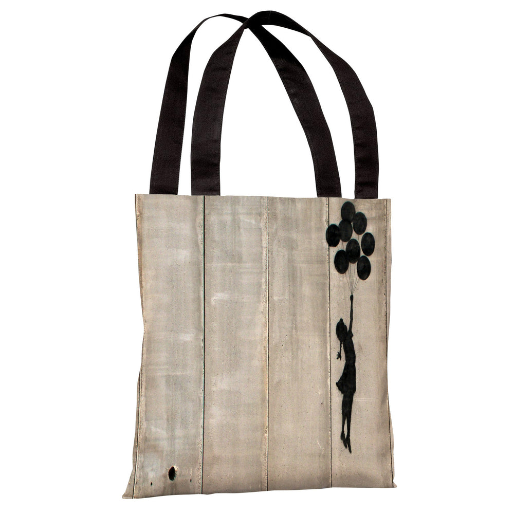 Balloon Tote Bag by Banksy
