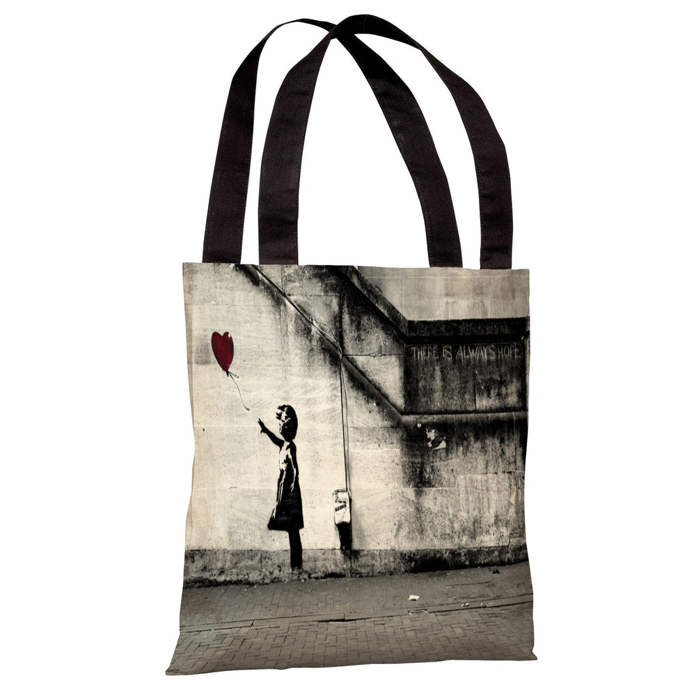 Hope 2 Tote Bag by Banksy