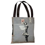 Graffiti is a Crime Tote Bag by Banksy