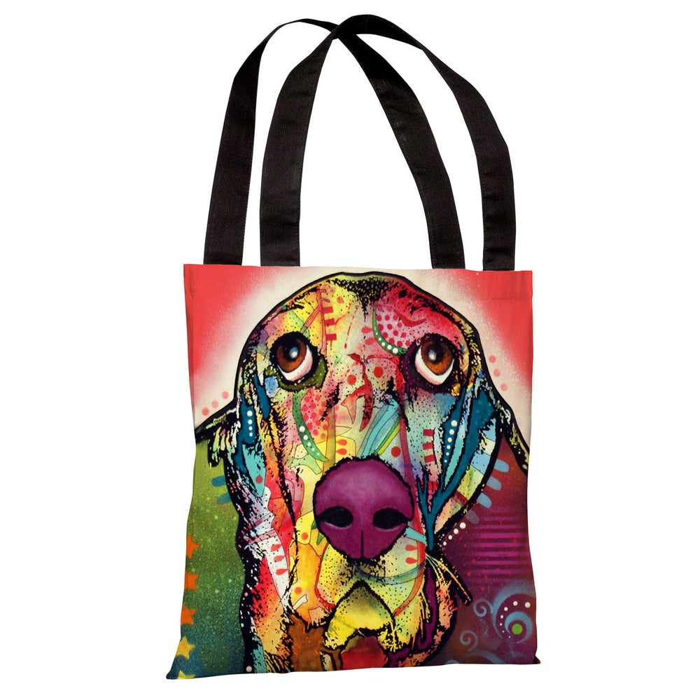 Basset Tote Bag by Dean Russo