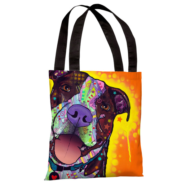Daisy Pit Tote Bag by Dean Russo