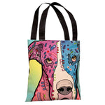 Nobody's Fool Tote Bag by Dean Russo