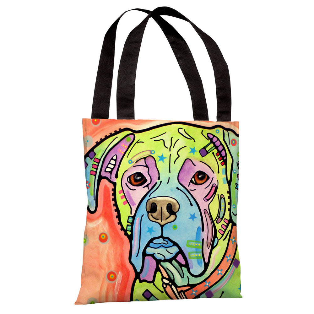 The Boxer Tote Bag by Dean Russo