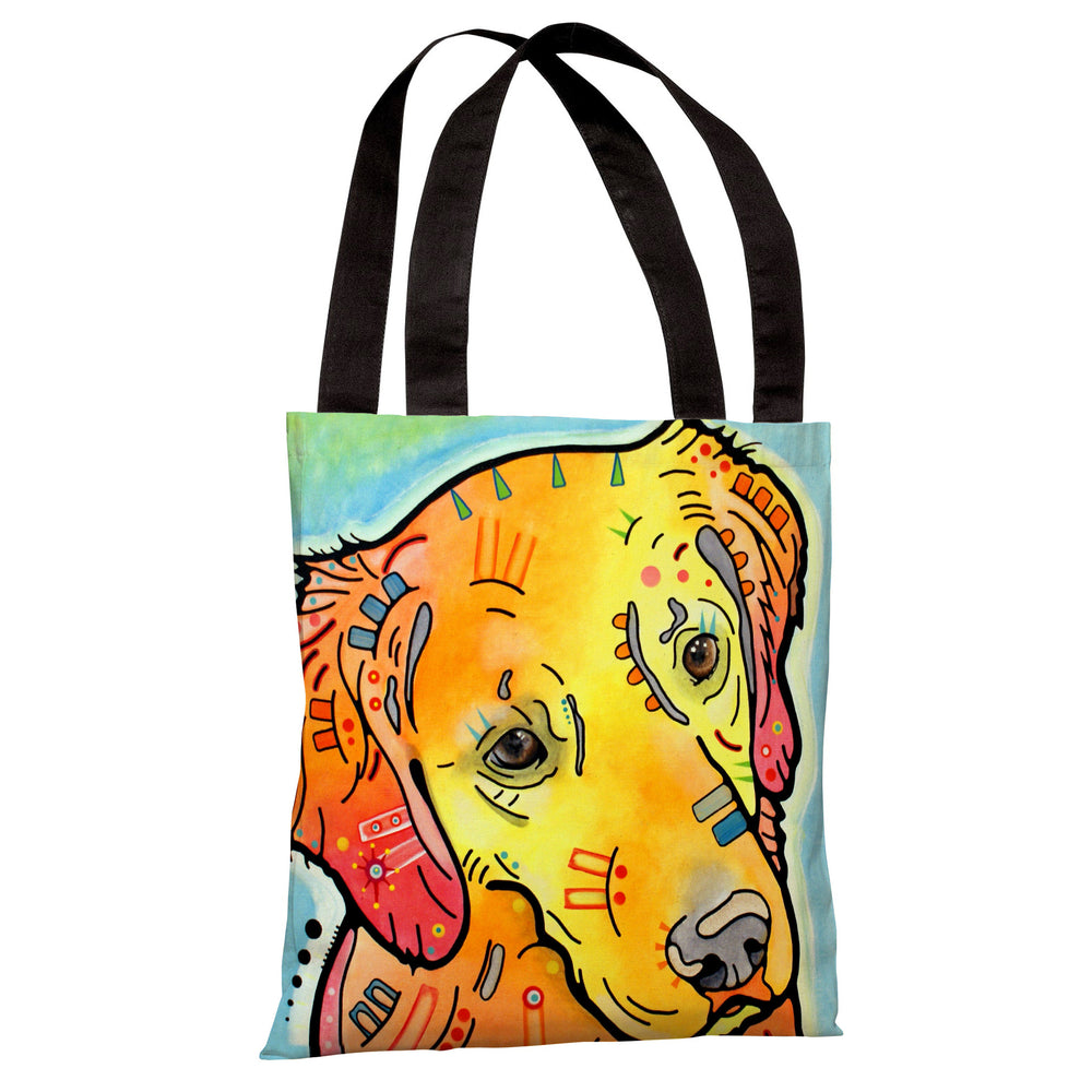 The Goldenish Retriever Tote Bag by Dean Russo