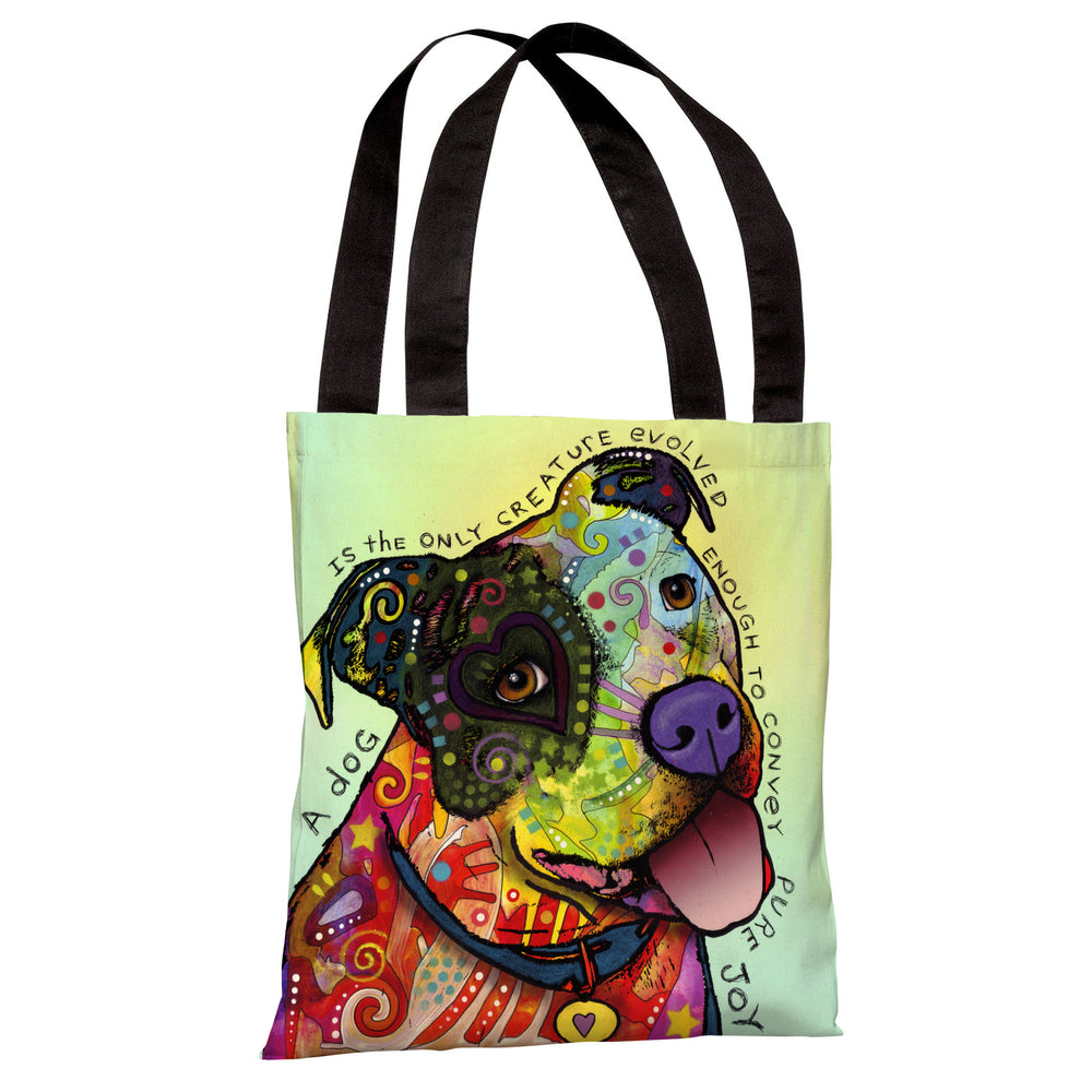 Pure Joy Tote Bag by Dean Russo