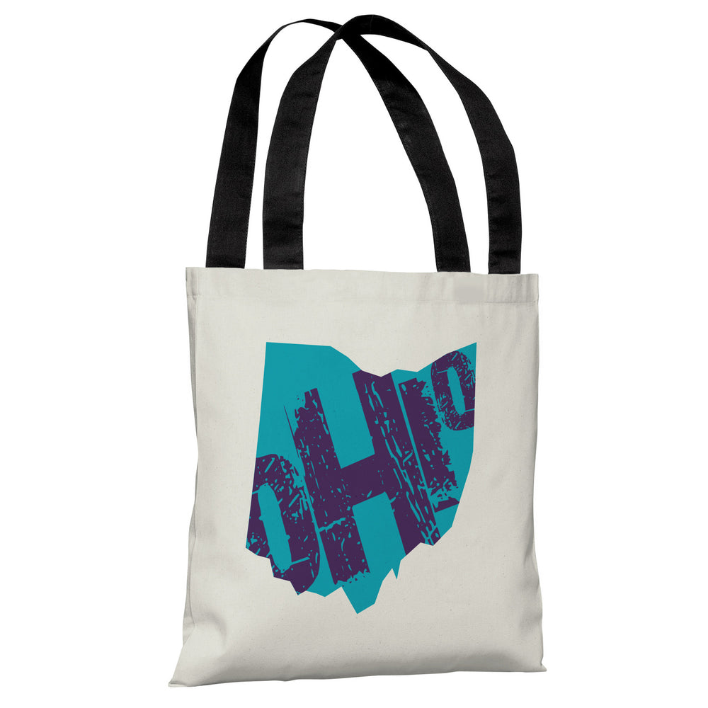 Ohio State Type Tote Bag by OBC