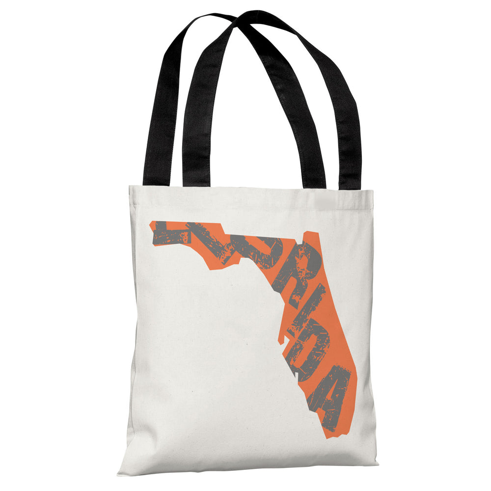 Florida State Type Tote Bag by OBC