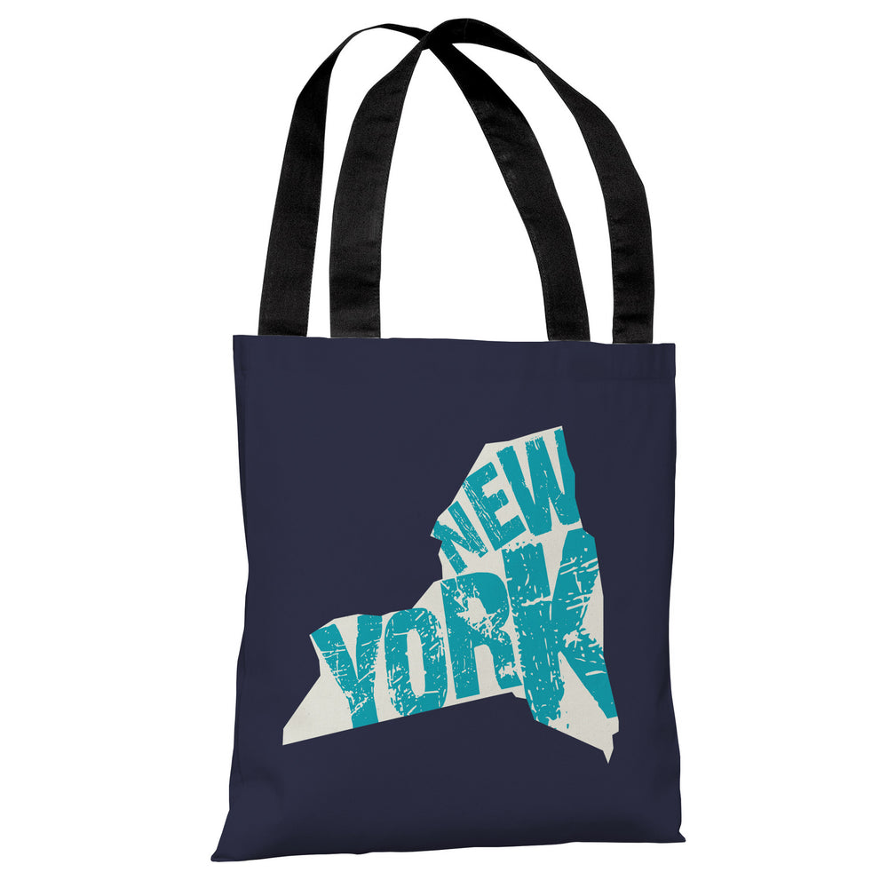 New York State Type Tote Bag by OBC