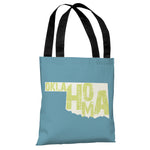 Oklahoma State Type Tote Bag by OBC