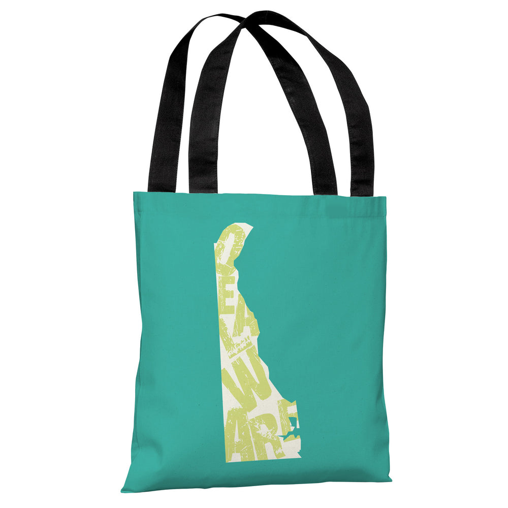 Delaware State Type Tote Bag by OBC