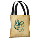 Octopus Tote Bag by OBC