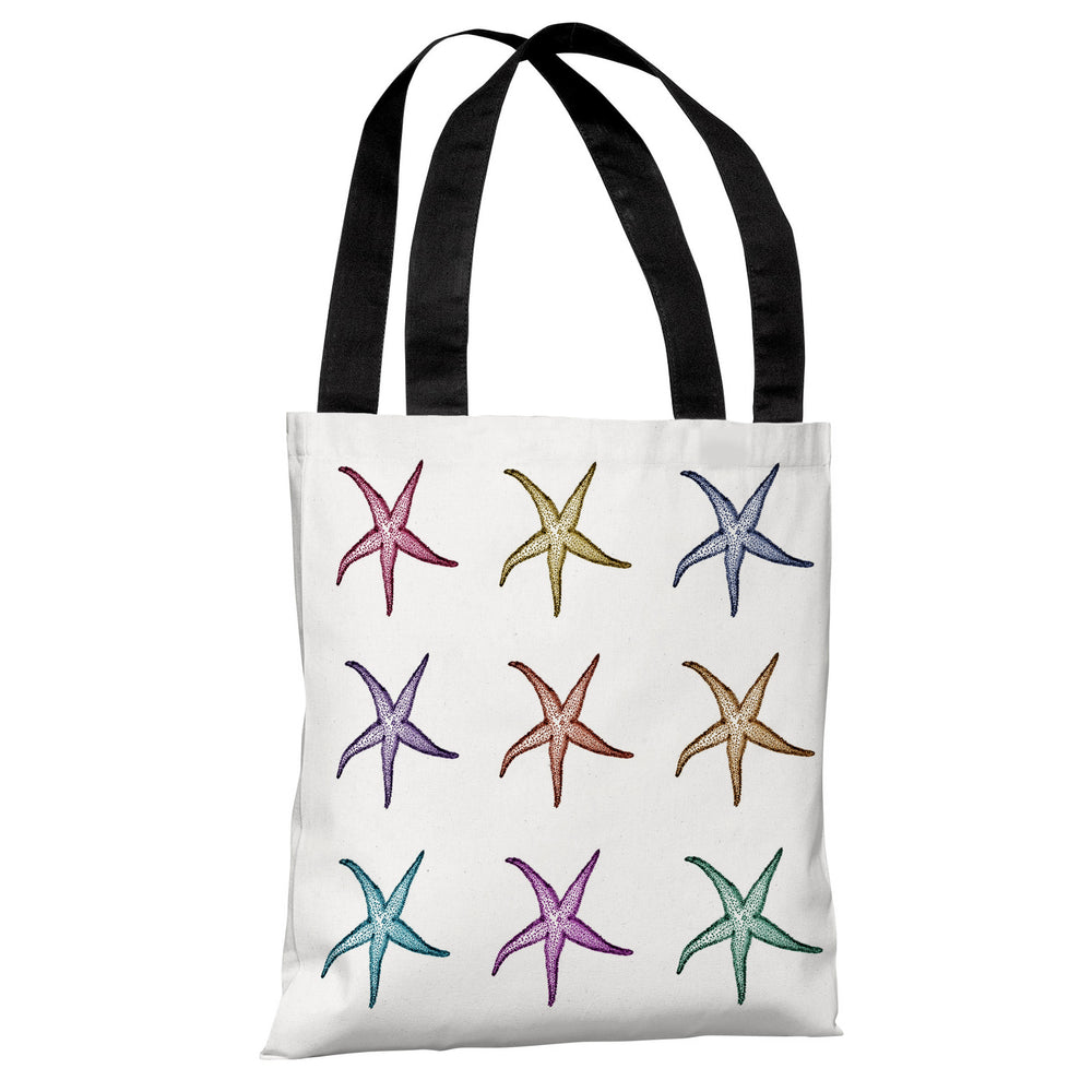 Starfish Pattern Tote Bag by OBC