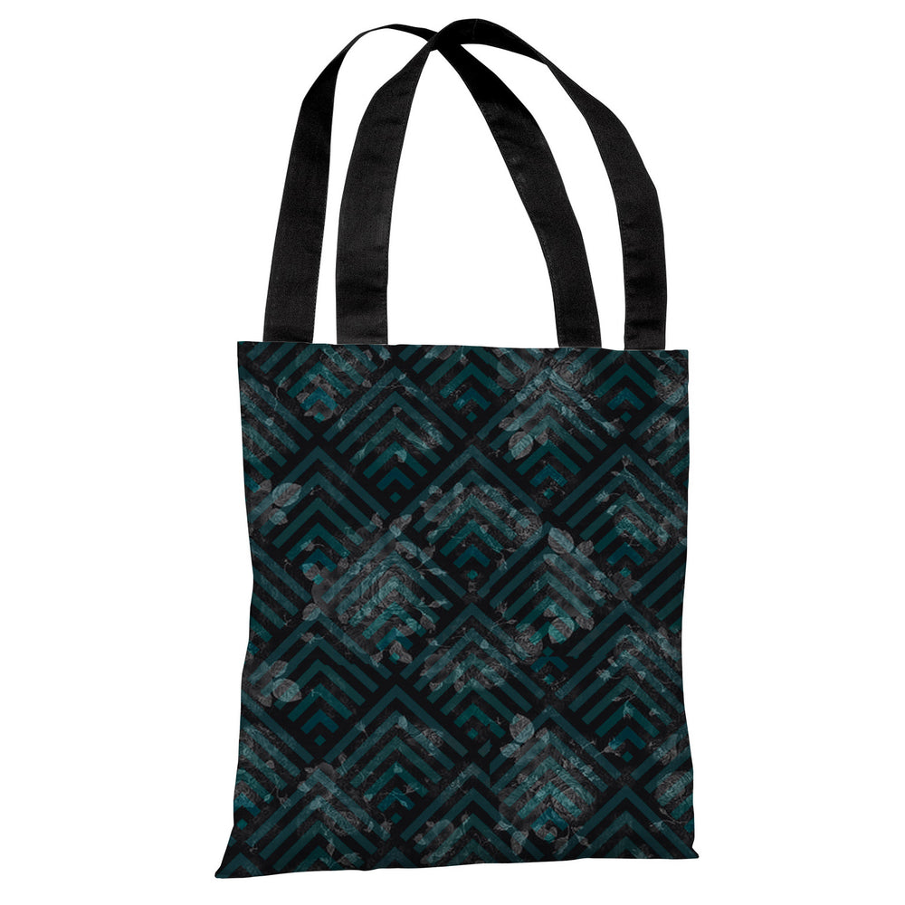 Maya Scale Floral Tote Bag by OBC