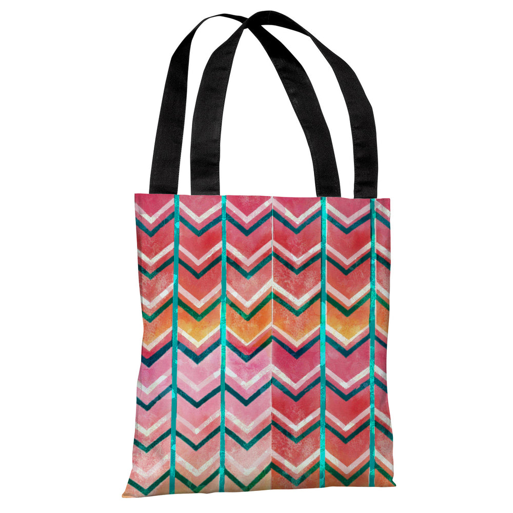 Textured Ombre Tote Bag by OBC