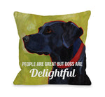 Dogs are Delightfulby OneBellaCasa Affordable Home D_cor