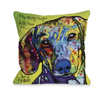 Dachshund with Textby OneBellaCasa Affordable Home D_cor