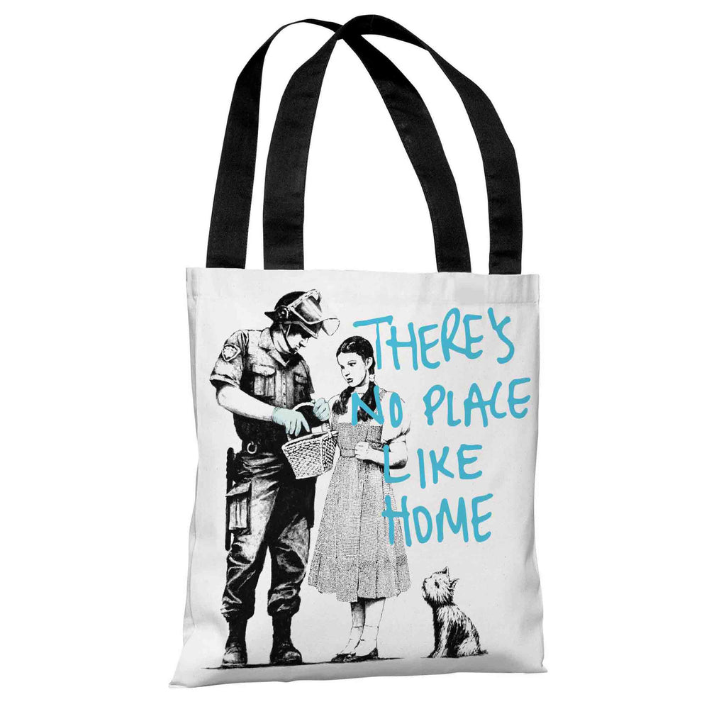 Dorothy No Place Life Home Tote Bag by Banksy