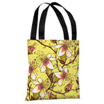 Lovelilies - Yellow Multi Tote Bag by OBC