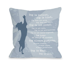 Dog is Love - Blueby OneBellaCasa Affordable Home D_cor